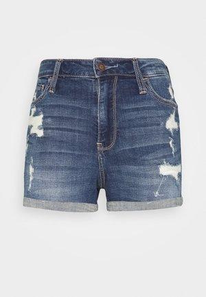 Denim shorts - dark