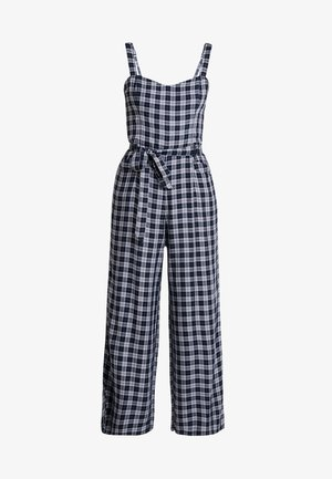 STRAPPY WITH SASH TIE - Overal - blue plaid