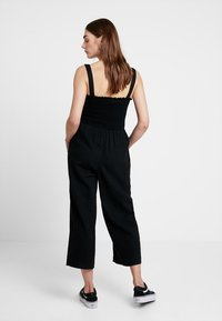 Hollister Co. - BUTTON FRONT - Overal - black - 2