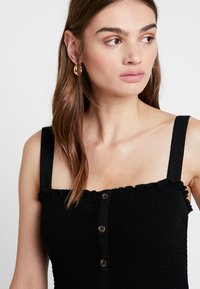 Hollister Co. - BUTTON FRONT - Overal - black - 4