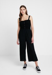 Hollister Co. - BUTTON FRONT - Overal - black - 0