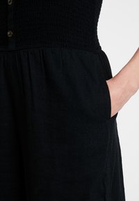 Hollister Co. - BUTTON FRONT - Overal - black - 6