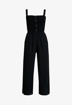 BUTTON FRONT - Overal - black