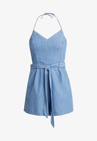 Hollister Co. - HALTER ROMPER - Overal - chambray - 3