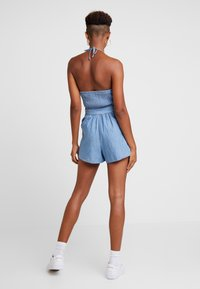 Hollister Co. - HALTER ROMPER - Overal - chambray - 2