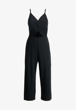 TWIST FRONT JUMPSUIT - Overall / Jumpsuit - black
