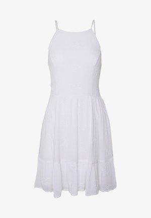 ROMPER - Korte jurk - white