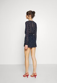 Hollister Co. - LONG ROMPER - Combinaison - navy - 2