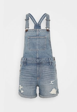 MOM SHORTALL ACID WASH - Jumpsuit - medium