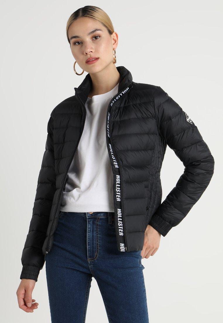 Hollister Co. - PUFFER - Down jacket - black