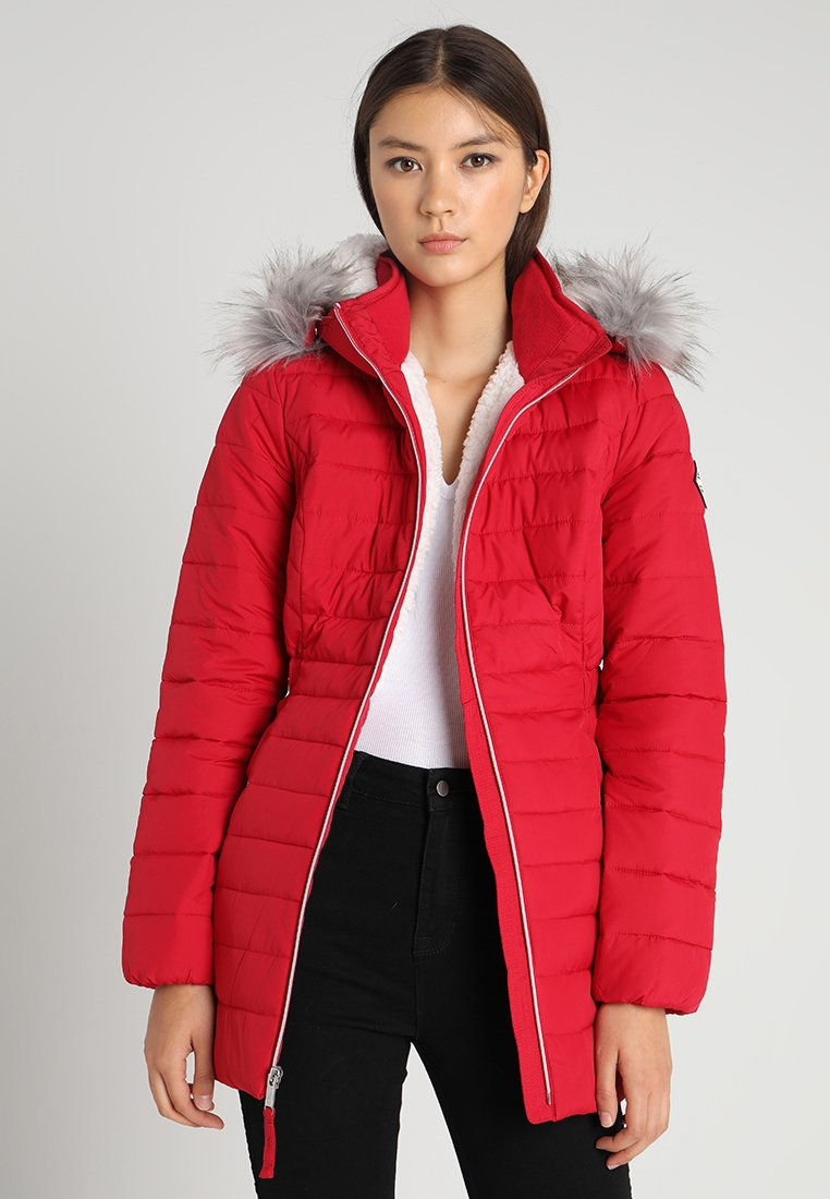 Hollister Co. - Wintermantel - red