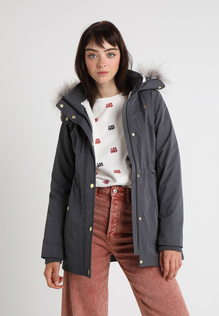Hollister Co. - ALL WEATHER - Parka - grey