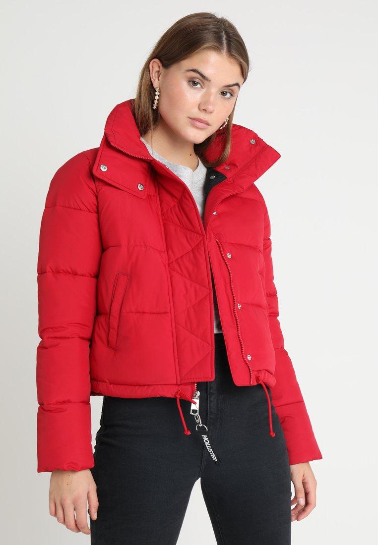 Hollister Co. - FASHION PUFFER  - Chaqueta de invierno - red