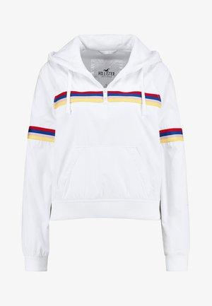 POPOVER WINDBREAKER - Winter jacket - white