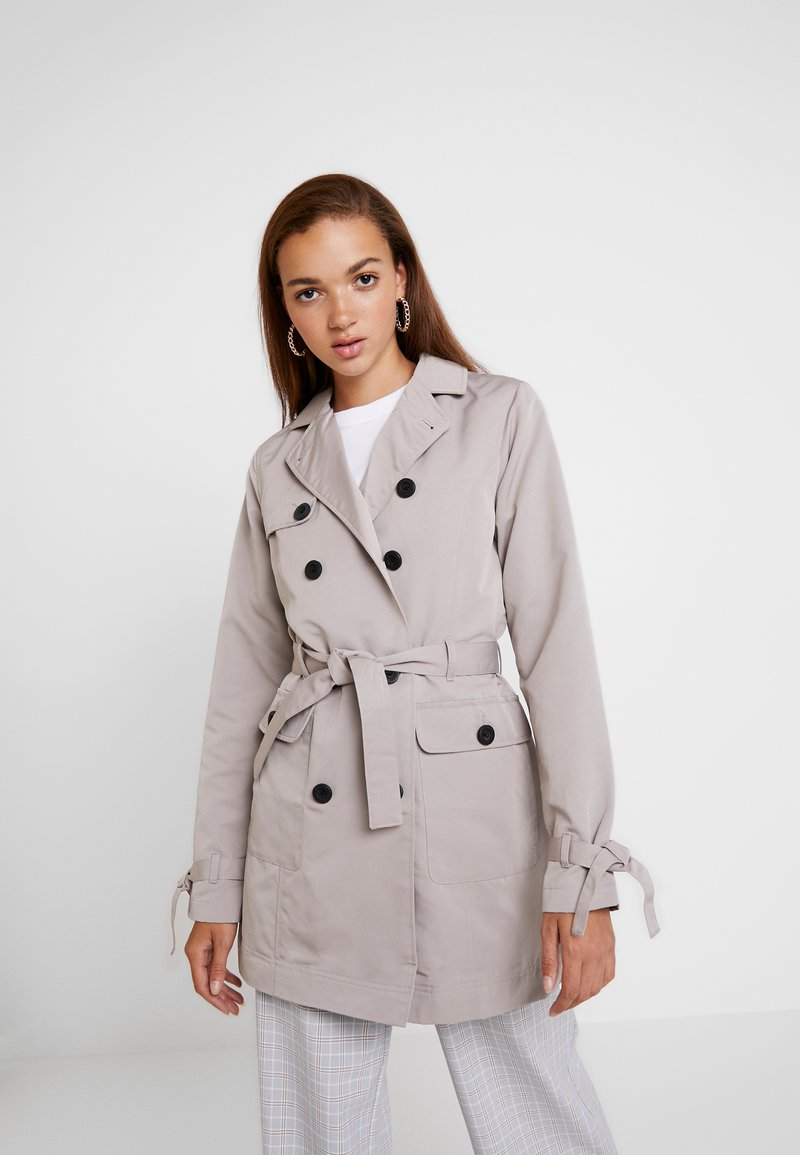 Hollister Co. - Trenchcoat - stone