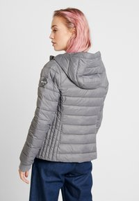 Hollister Co. - LIGHTWEIGHT PUFFER JACKET - Light jacket - grey - 2