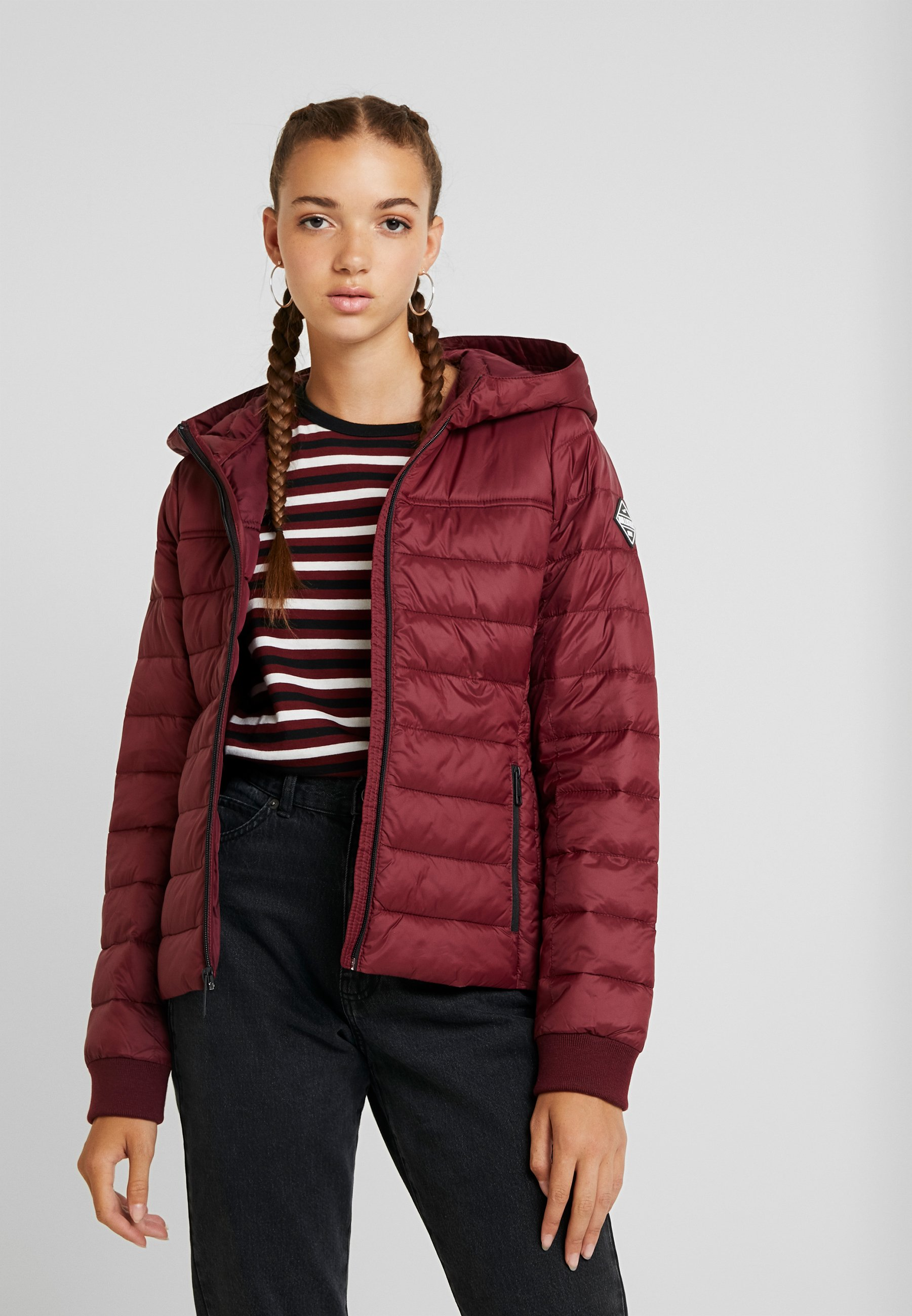 Hollister Jakke Dame Outlet Hollister Down Bomber Jakke