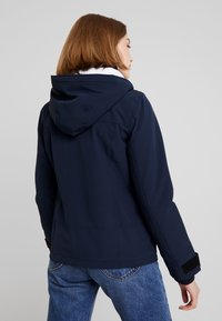 Hollister Co. - ALL WEATHER JACKET - Lett jakke - navy solid - 2