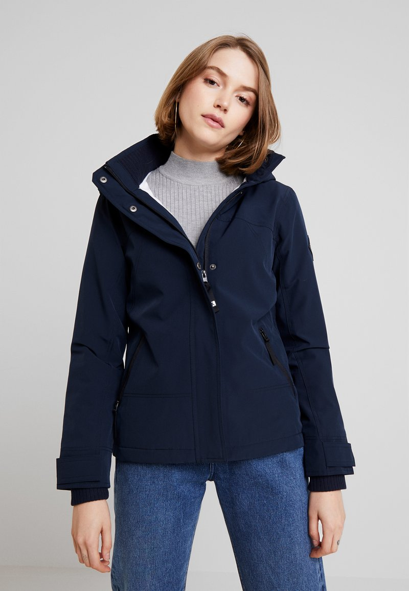 Hollister Co. - ALL WEATHER JACKET - Lett jakke - navy solid