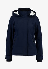 Hollister Co. - ALL WEATHER JACKET - Lett jakke - navy solid - 4