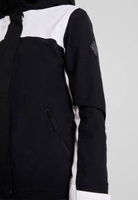Hollister Co. - ALL WEATHER JACKET - Lett jakke - black/white