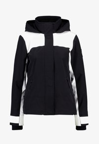 Hollister Co. - ALL WEATHER JACKET - Lett jakke - black/white - 4