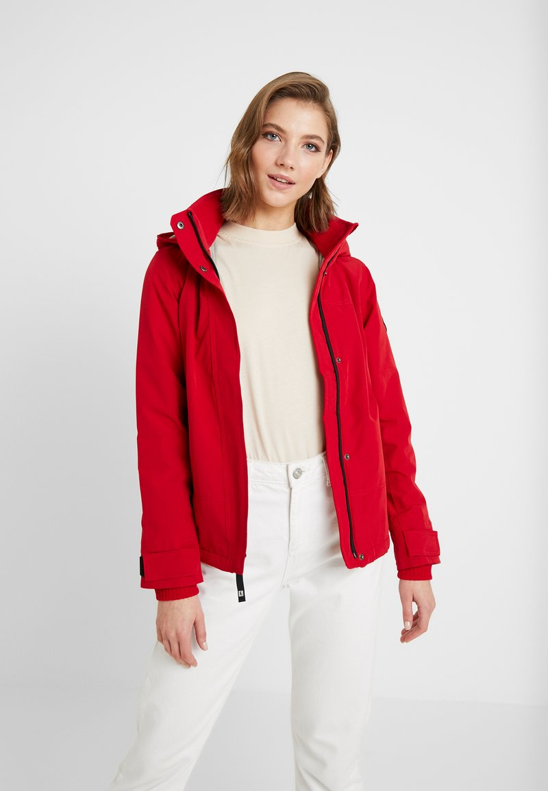 Hollister Co. - ALL WEATHER  - Lehká bunda - red