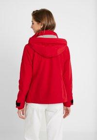 Hollister Co. - ALL WEATHER  - Lehká bunda - red - 2