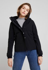 Hollister Co. - ALL WEATHER  - Jas - black solid - 0