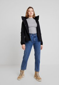 Hollister Co. - ALL WEATHER  - Jas - black solid - 1