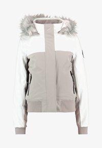 Hollister Co. - ALL WEATHER - Veste mi-saison - white to grey color block - 4