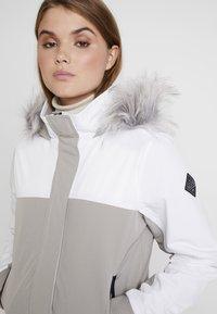 Hollister Co. - ALL WEATHER - Veste mi-saison - white to grey color block - 5