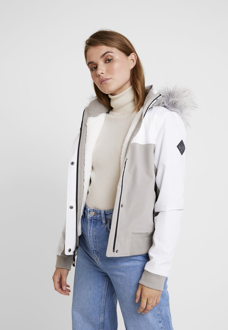 Hollister Co. - ALL WEATHER - Light jacket - white to grey color block
