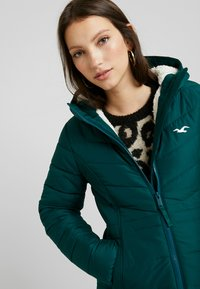 Hollister Co. - CORE PUFFER JACKET - Zimní bunda - sea moss - 3