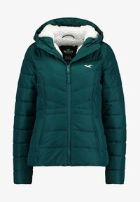 Hollister Co. - CORE PUFFER JACKET - Zimní bunda - sea moss - 4