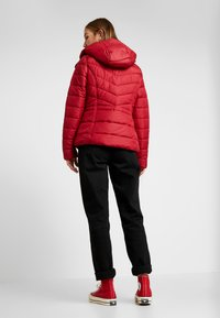 Hollister Co. - CORE PUFFER JACKET - Winter jacket - red - 2