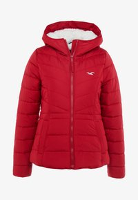Hollister Co. - CORE PUFFER JACKET - Winter jacket - red - 4