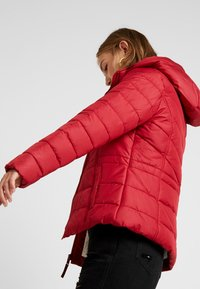 Hollister Co. - CORE PUFFER JACKET - Winter jacket - red - 3
