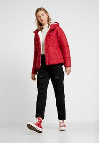 Hollister Co. - CORE PUFFER JACKET - Winter jacket - red - 1