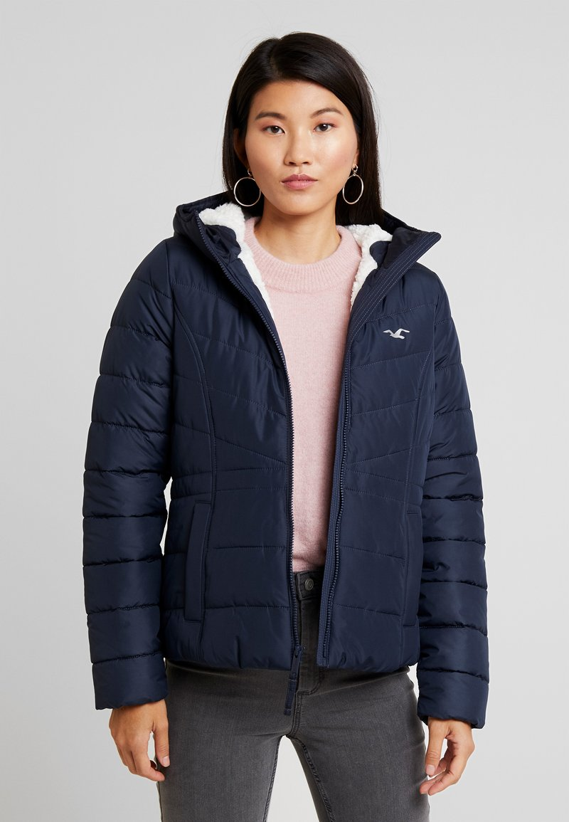 Hollister Co. - CORE PUFFER JACKET - Winter jacket - navy