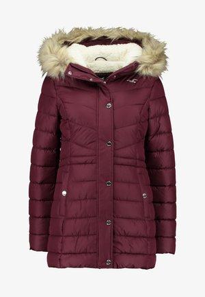 PUFFER - Zimní kabát - burg