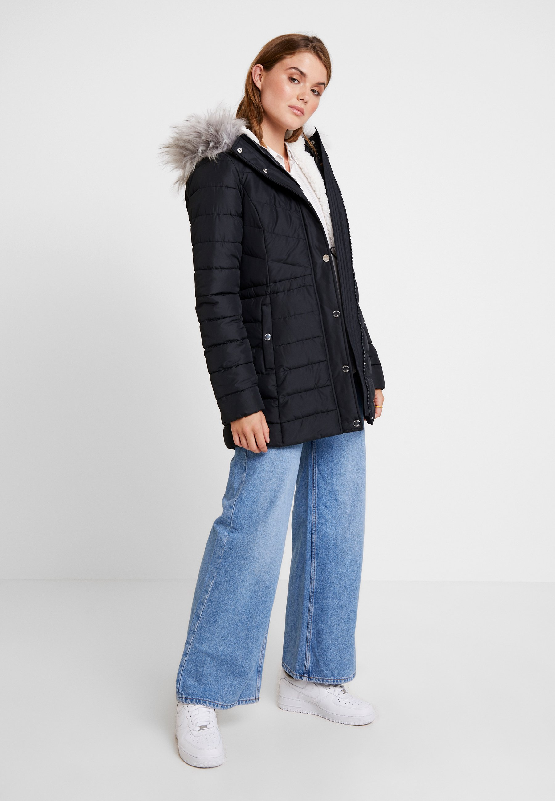 Hollister Co. LIGHTWEIGHT PUFFER Wollmantelklassischer