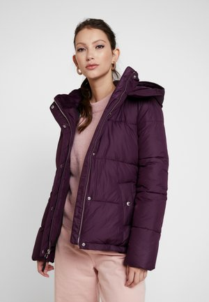 ELEVATED CORE PUFFER JACKET - Jas - blackberry wine