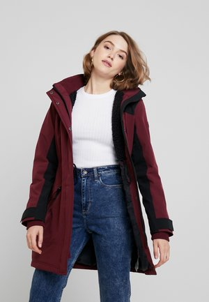 ALL WEATHER MIDWEIGHT - Parka - burg