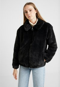 Hollister Co. - Winter jacket - black - 0