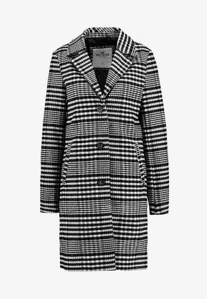 COAT - Zimní kabát - black plaid