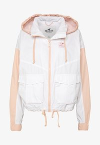 Hollister Co. - ALL THE FEELS - Chaqueta fina - white/pink - 4