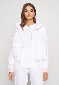 Hollister Co. - ALL THE FEELS - Chaqueta fina - white/pink - 0