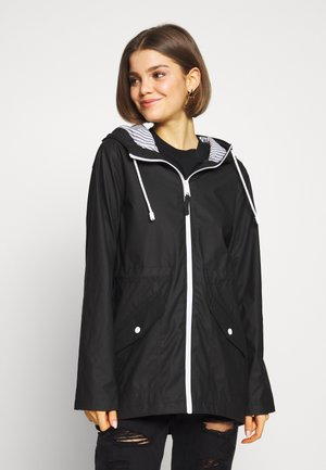 RAIN JACKET - Impermeabile - black