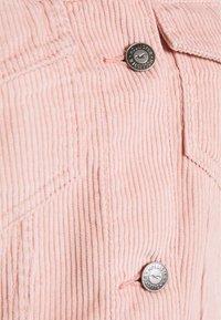 Hollister Co. - DRAPEY - Lehká bunda - dusty rose - 2